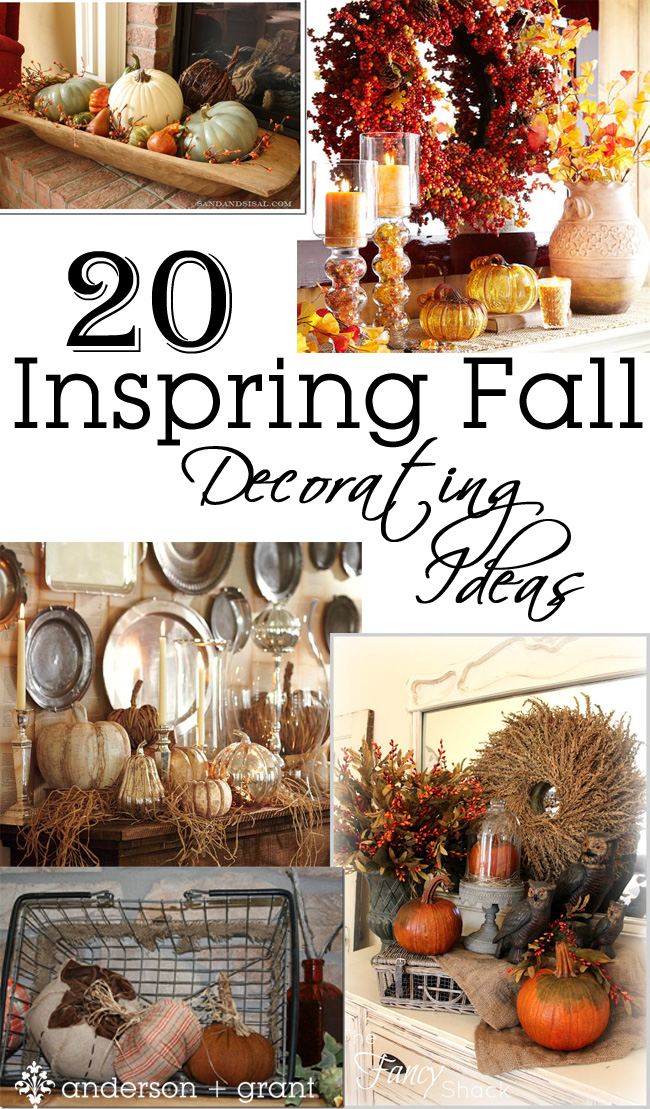 Anderson Grant Collection Of 20 Fall Decorating Ideas