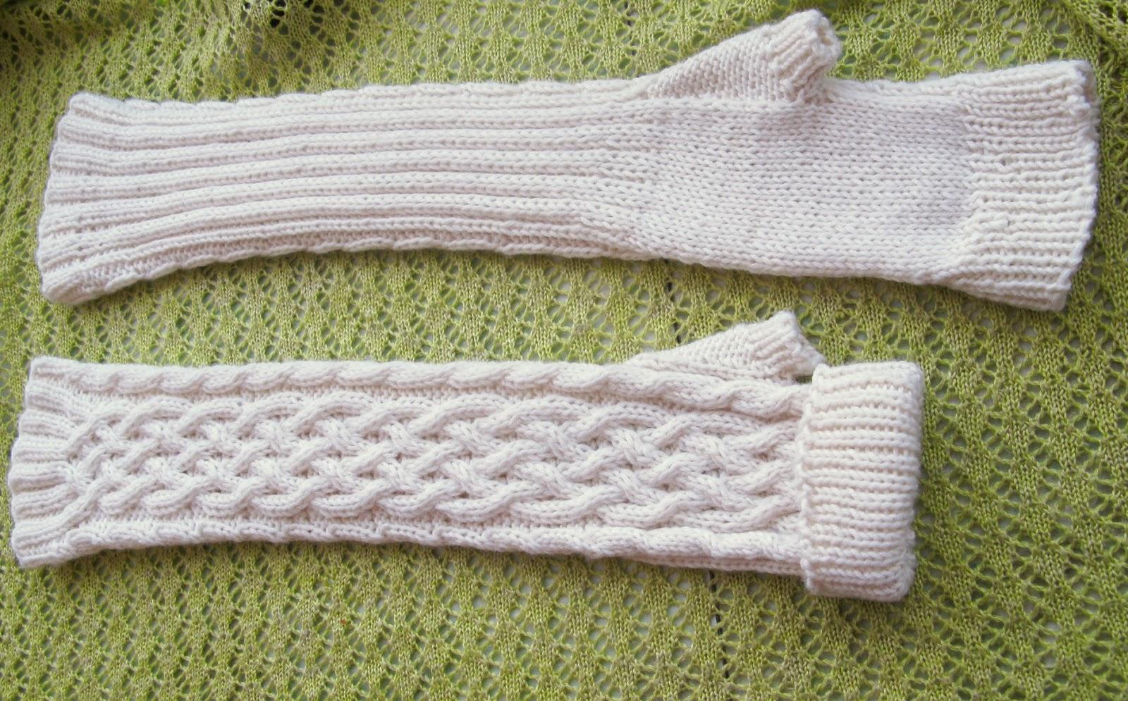 варежки и перчатки спицами схема