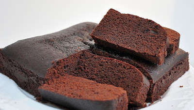 Eggless Moist Chocolate Cake Simple