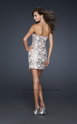 Party Kleider - Collection La Femme Fashion 2012 - Teil II