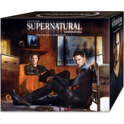 Box Supernatural 1ª a 7ª Temporada  41 DVDs