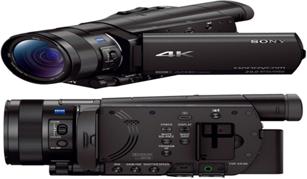 Sony 4K Shooting AX100 Camcorder Price