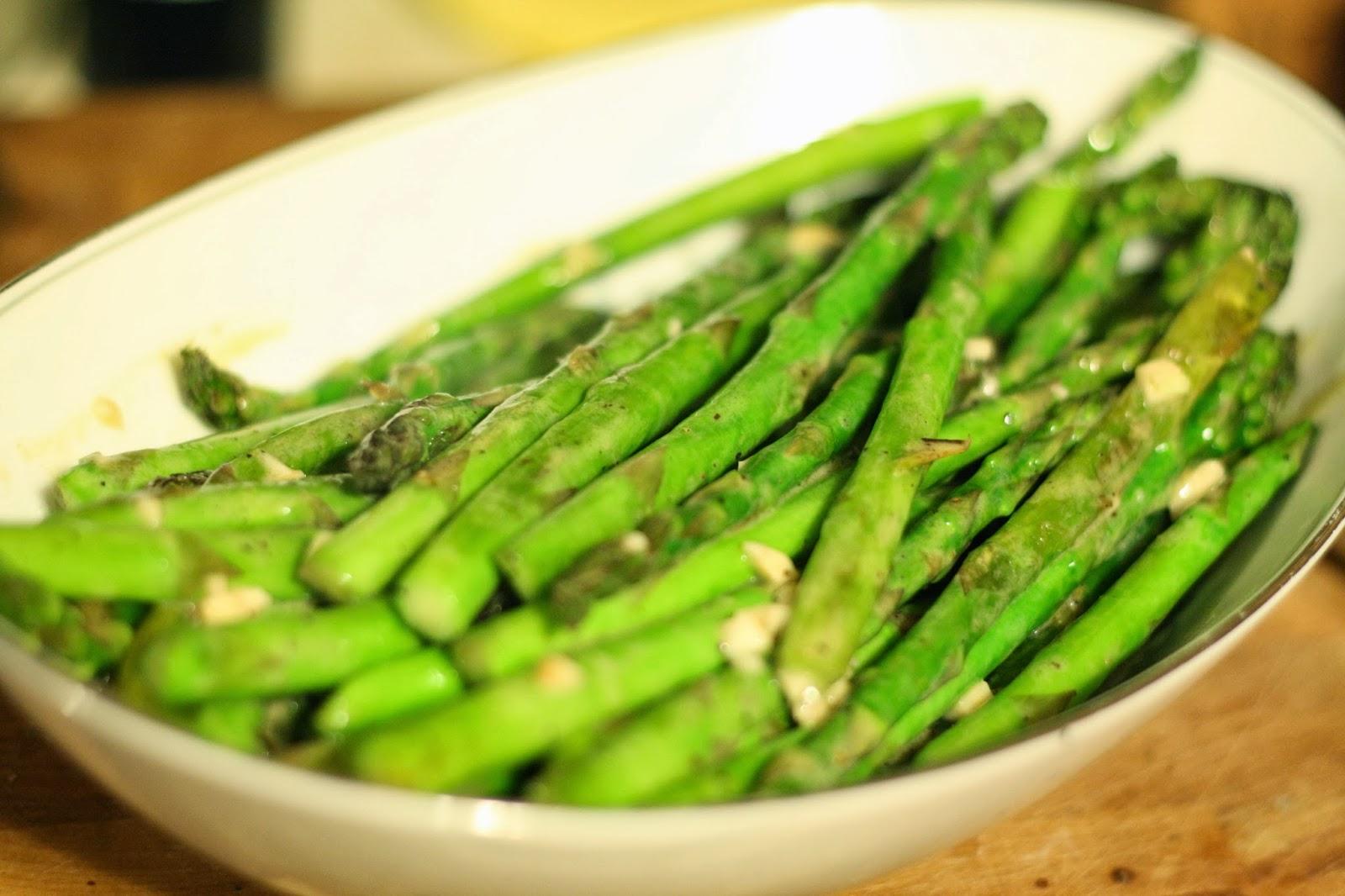 ... Gospel According to Ruth: Sauteed Asparagus with Dijon Vinaigrette