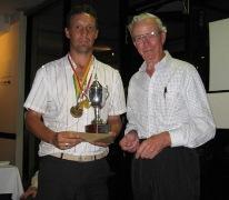 James Rogerson ganador Open de Australia 2012 de Pitch & Putt - FIPPA