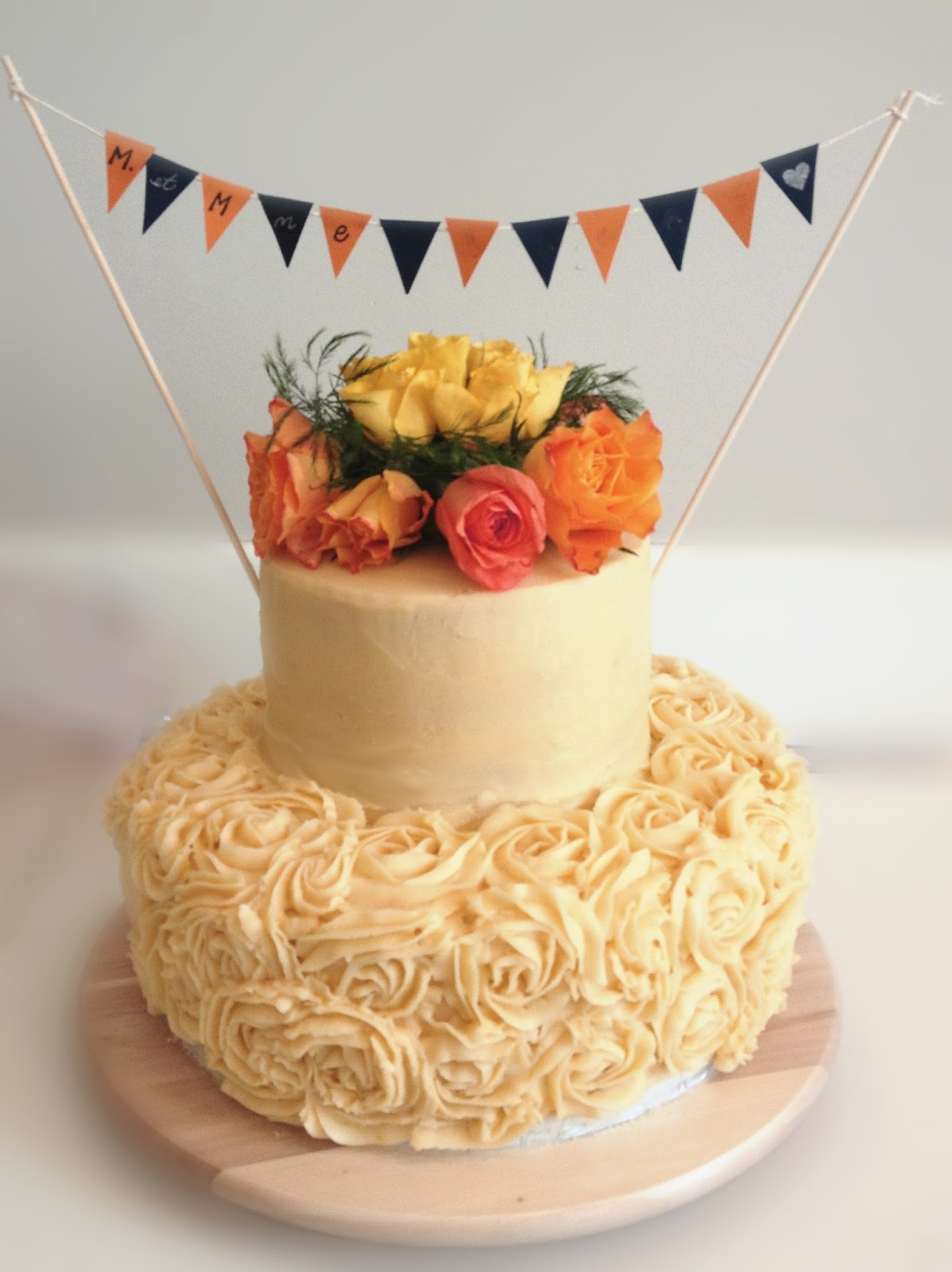 Sweetopie: Carrot Cake with Ginger Orange Frosting