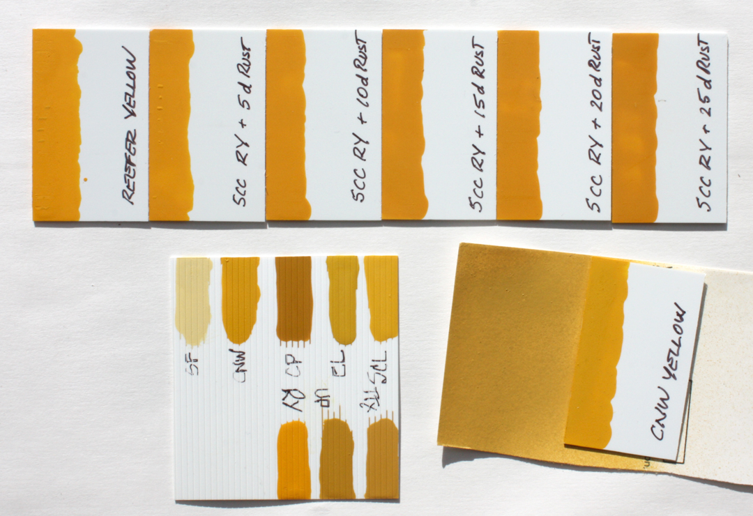 100 Yellow Paint Samples Paint Sample Crafts You