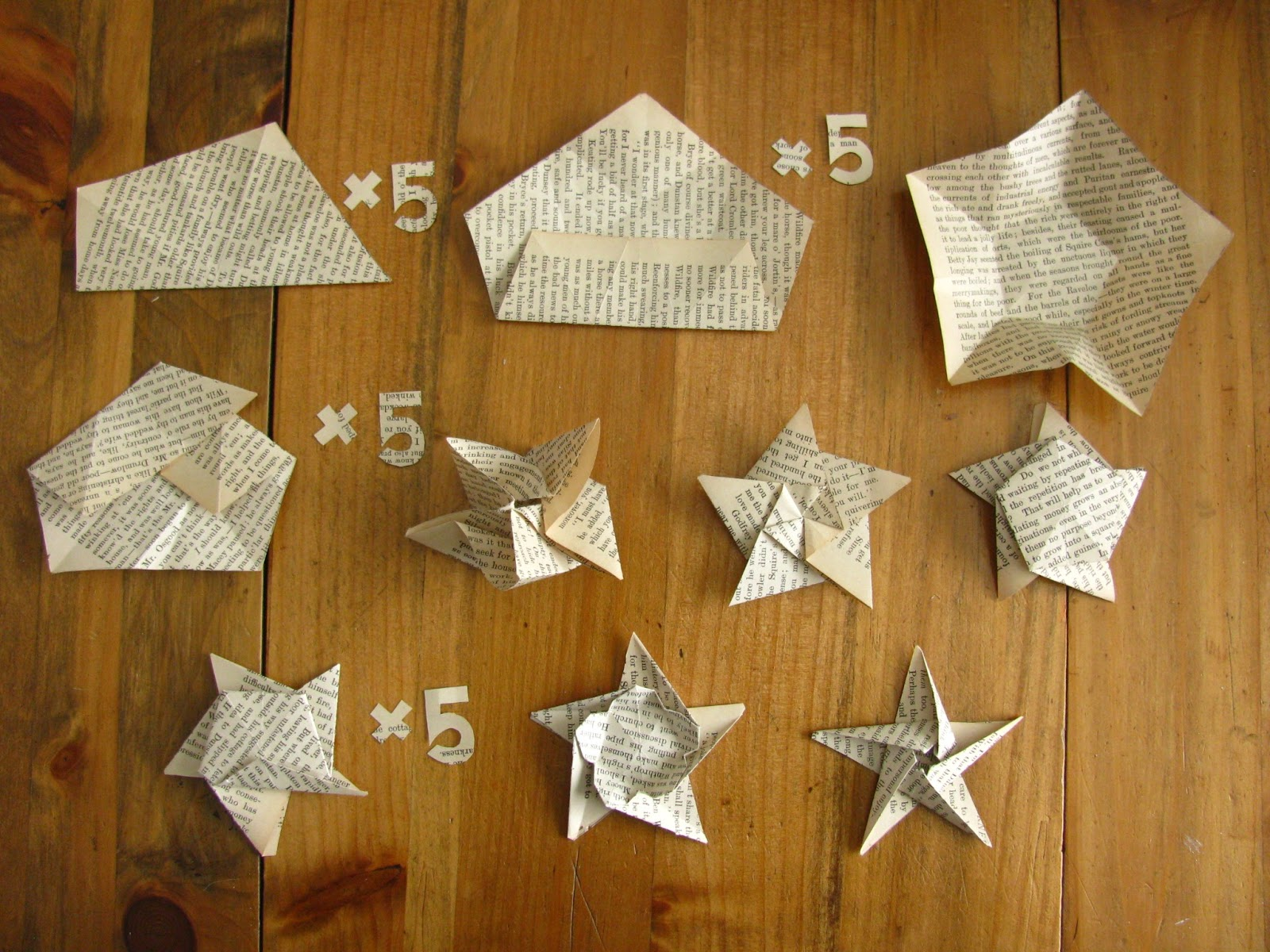 Le popsicle stande paper stars for How to make a star with paper step by step