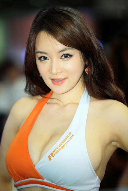 Asian racing super models
