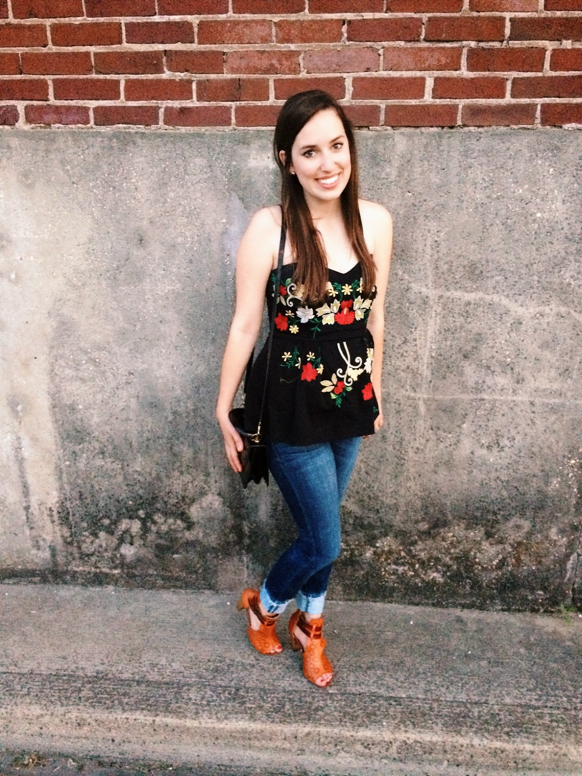 Embroidery Anthropologie Top Covered Bridge Shooties Blog Trendy in Texas