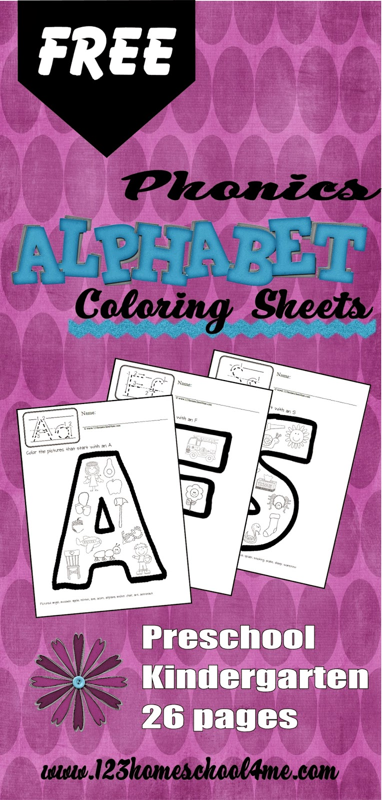 free phonics alphabet coloring sheets
