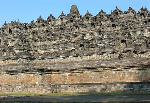 Borobudur Temple or Candi Borobudur Indonesia