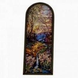 Stained Glass Transom Window tiffany
