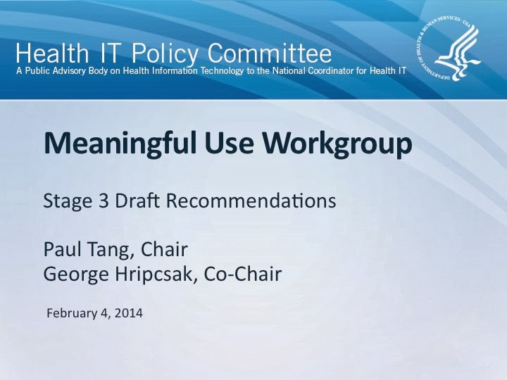 meaningful use essay Meaningful use defines minimum us government standards for using electronic  health records (ehr) and for exchanging patient clinical data between.