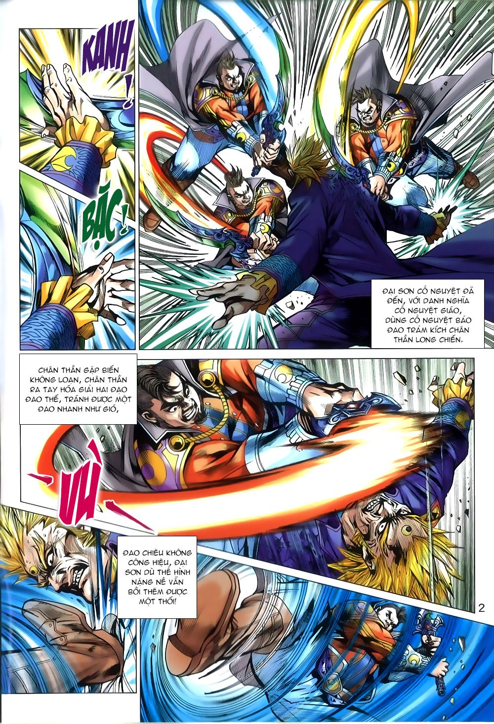 Tân Tác Long Hổ Môn chap 809 Trang 2 - Mangak.info