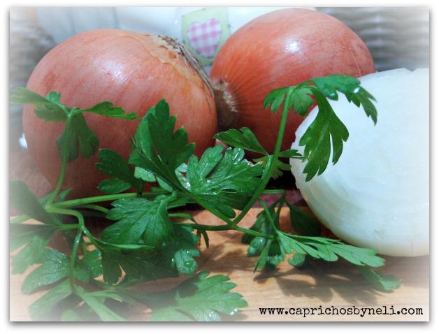 benefícios do alho, cebola e salsinha