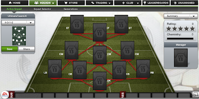 FUT 13 Formations - 4-3-1-2 - FIFA 13 Ultimate Team