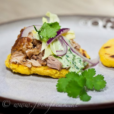 Slow-Cooker Mexican Pork with Gorditas