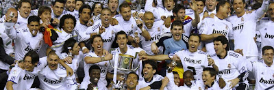 Spanish Cup 2011 Real Madrid