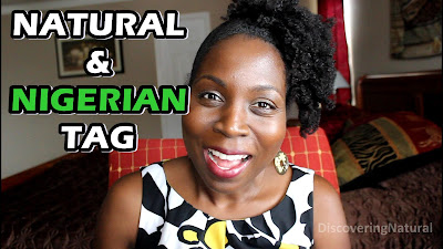 I'm Natural and I'm Nigerian