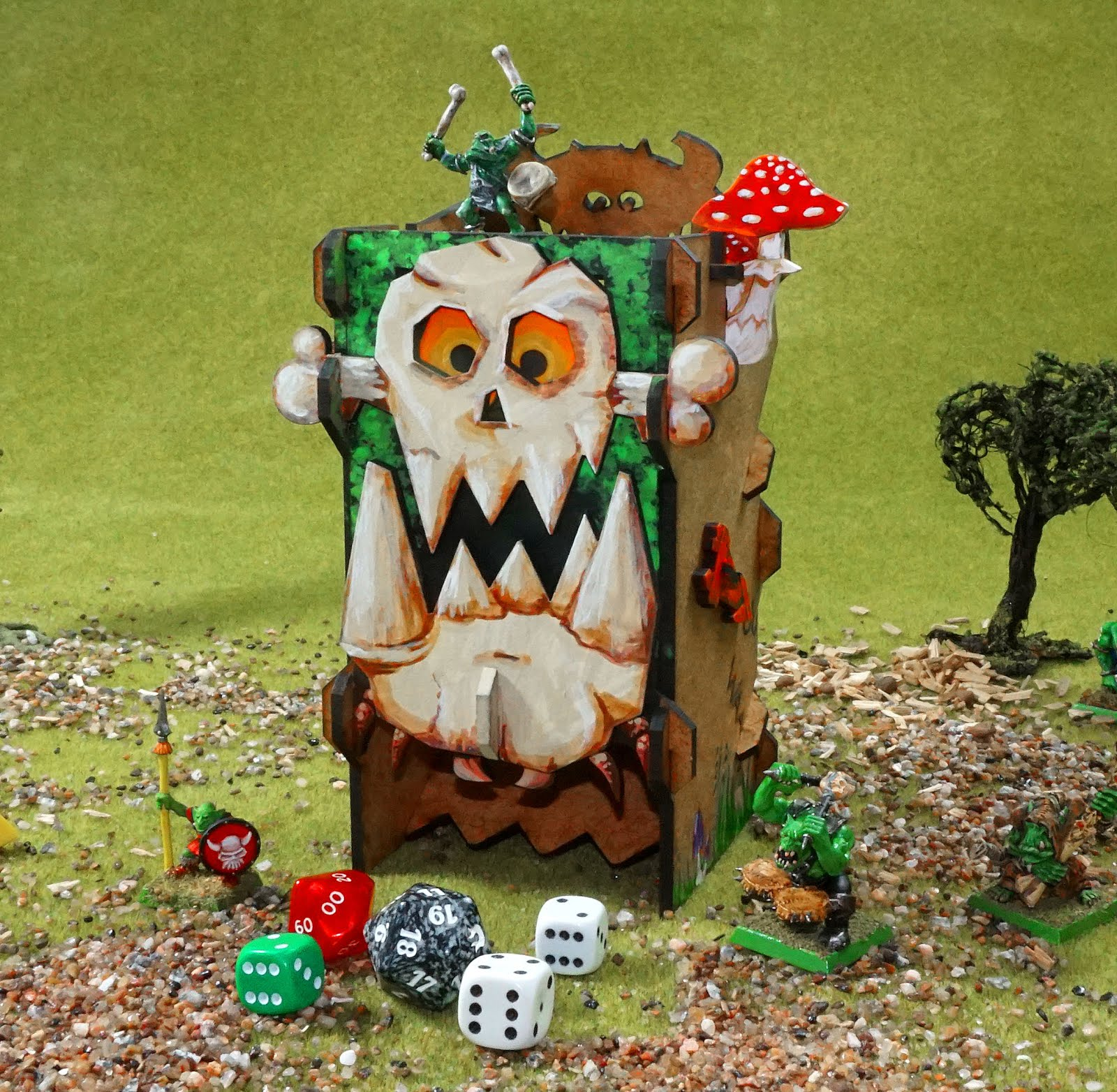 Mechanical Dice Towers