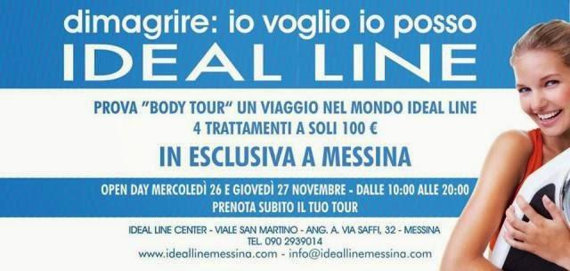 SCOPRI IL MONDO IDEAL LINE. PRENOTA IL TUO BODY TOUR