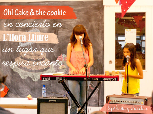 concierto oh cake and the cookie Fiesta y chocolate