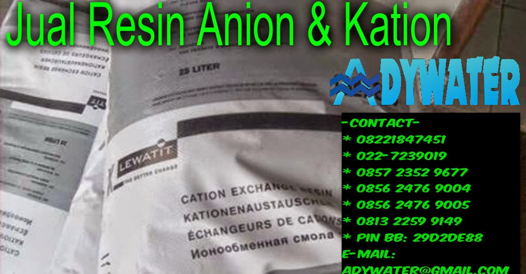 Jual Resin Lewatit | Jual Resin Anion Kation