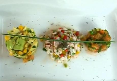 Domates Tartar, Avokado Tartar, Karides Tartar - Videolu Tarifi