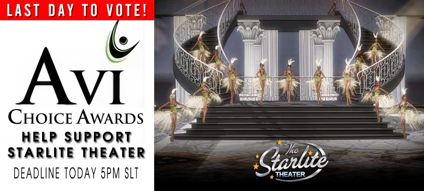 http://avichoiceawards.com/vote-here-the-arts/