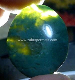 Batu Permata Bacan Doko + Memo - ZP 556
