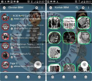 BBM Mod Versi 2.10.0.30 Tema Full Transparan Terbaru