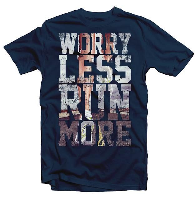 run more tshirt