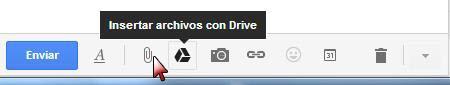 Insertar archivos con Drive