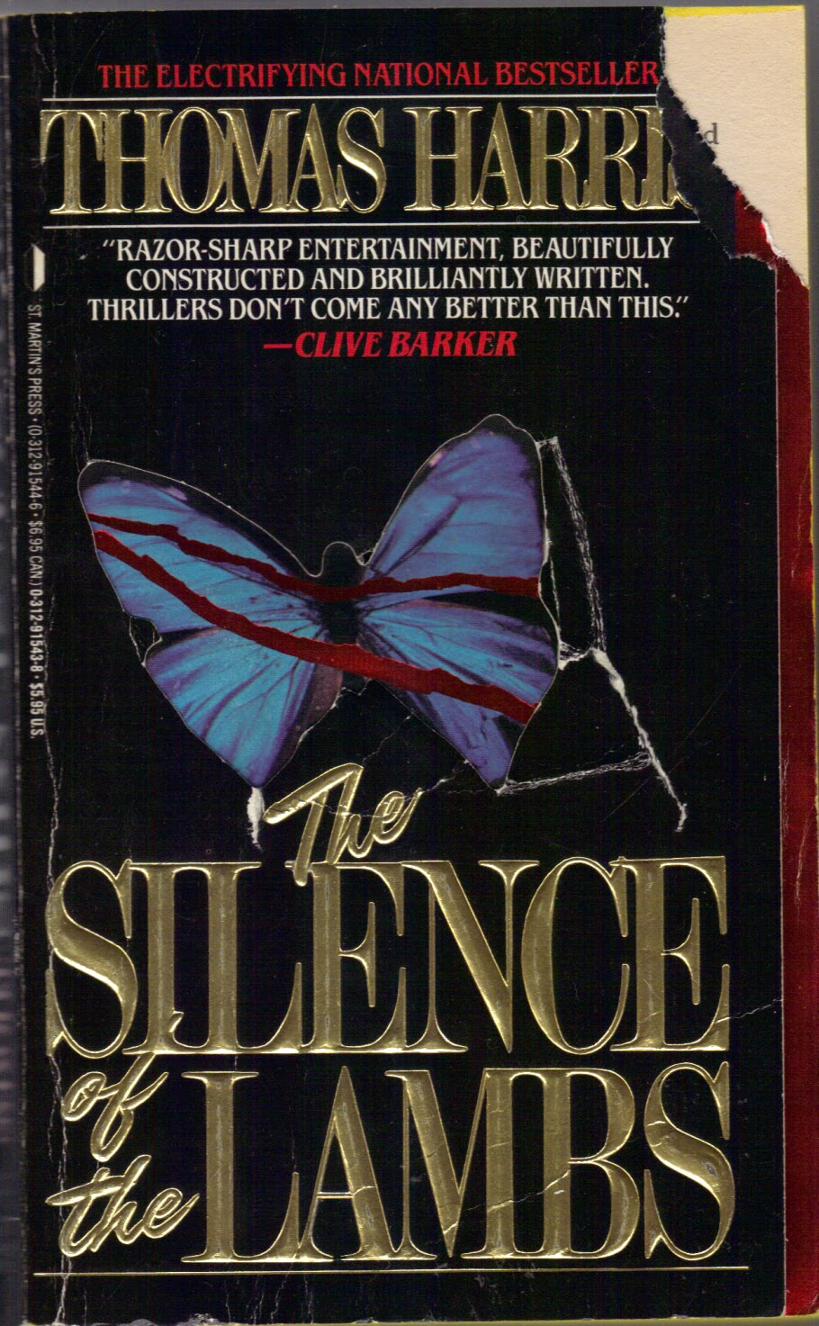 The Silence Of The Lambs By Thomas Harris (1988): Donu0027t Wanna Go Down To  The Basement