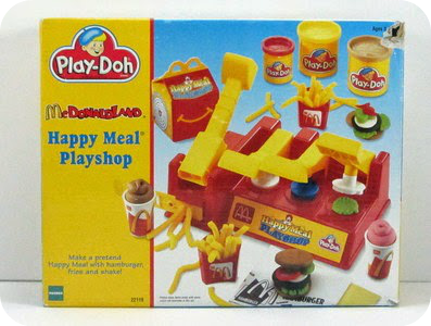 Play-Doh Happy Meal Playshop