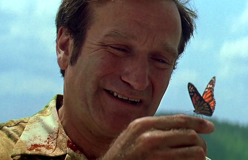 Robin williams patch adams butterfly