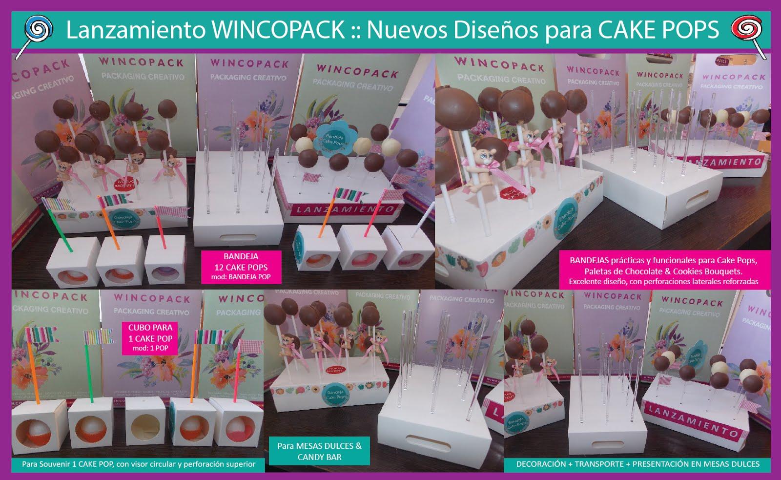 bandejas cake pops