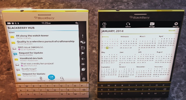 New Blackberry 10.3 Passport Release Date and Specs 2014