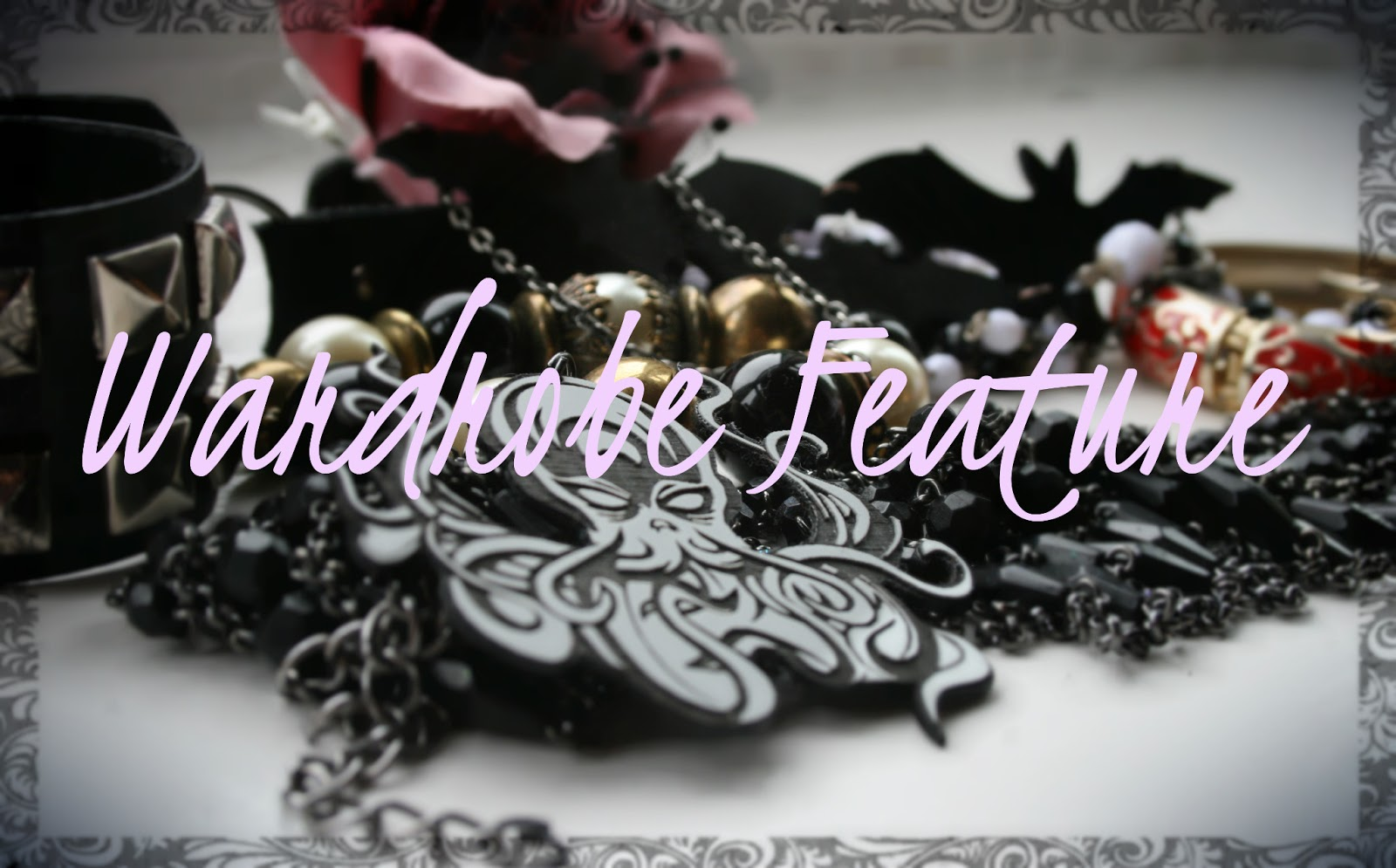 wardrobe feature, jewellery, goth