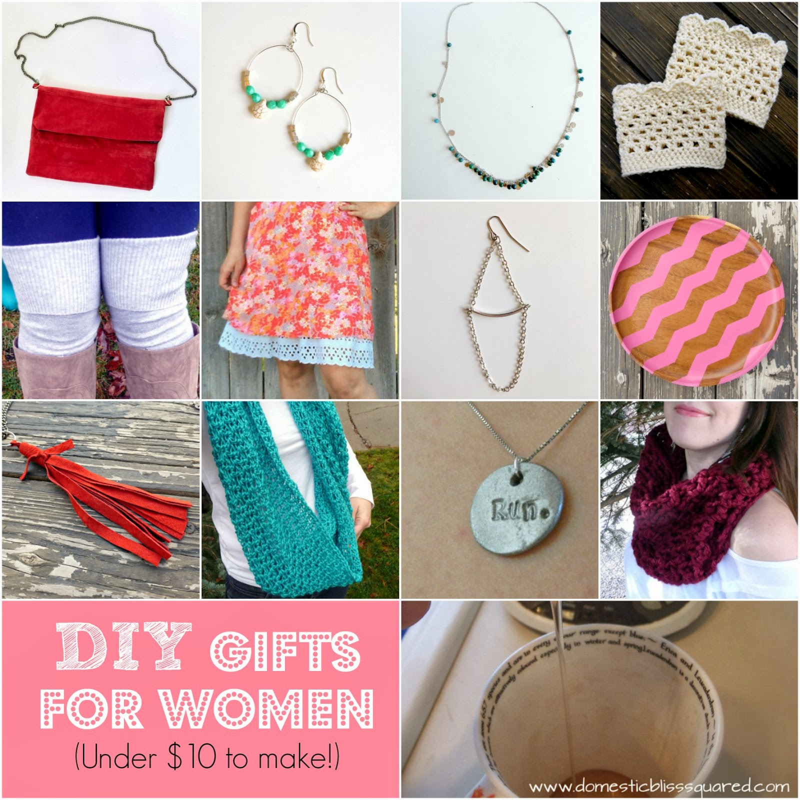 diy gifts to make for women under $10