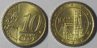 austria 10 cent 2008