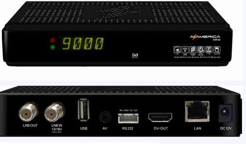Novo lançamento Azamerica HD, o S912HD… Conheça Aqui