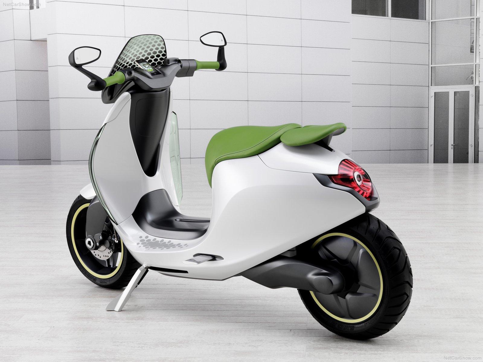 Hình ảnh xe ô tô Smart eScooter Concept 2010 & nội ngoại thất