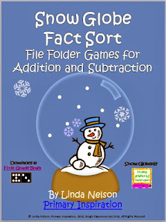 http://www.teachersnotebook.com/product/linda%20n/snow-globe-addition-and-subtraction-fact-sort