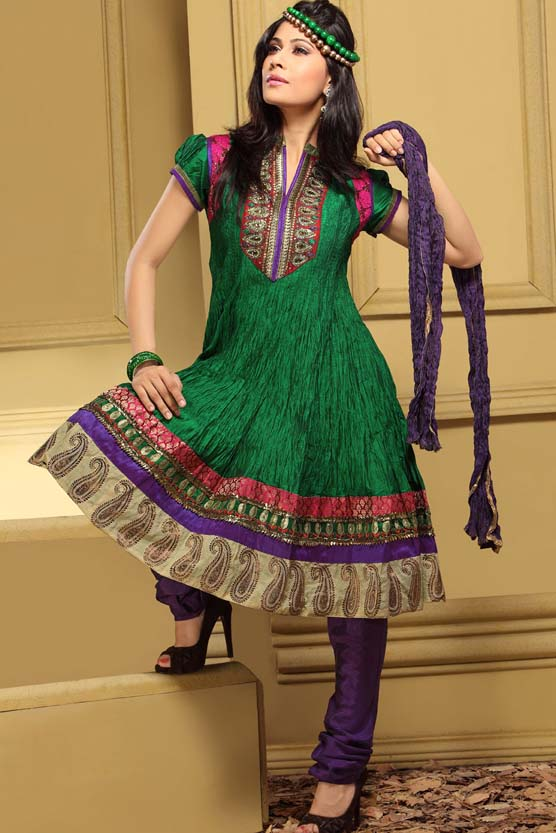 Latest Anarkali Design Patterns for Anarkali Suits 2012 @FashionMAg