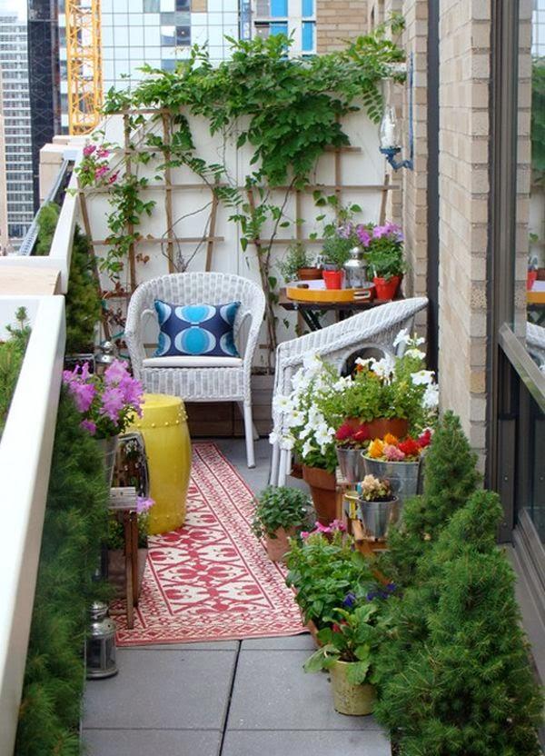 Foundation dezin decor japaneses style garden for Japanese balcony garden design