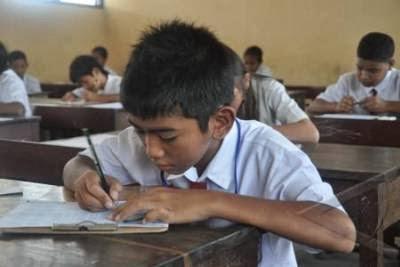 Namanya sekarang ujian Sekolah, berlaku untuk jenjang SD dan sederajat.