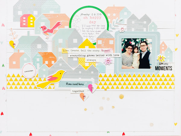 PinkFresh Studio : Oh Happy Day & Be You