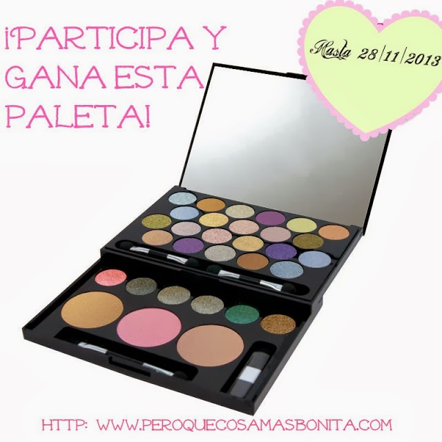 Sorteo de una Paleta Next Top Model de MUA