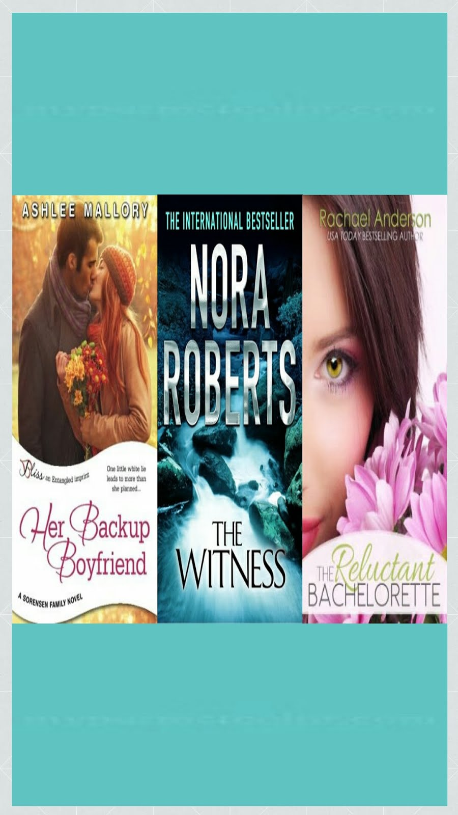 "SOME ""ROMANCE"" BOOKS THAT I ENJOYED"